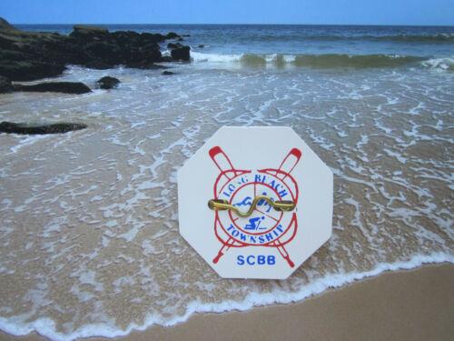 LONG BEACH TOWNSHIP ( LBI ) NEW JERSEY  BEACH  PATROL BADGE/TAG  GOOD FOR LIFE