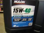 NULON 10 LITRE 15W/40 DIESEL OIL Bunbury Bunbury Area Preview