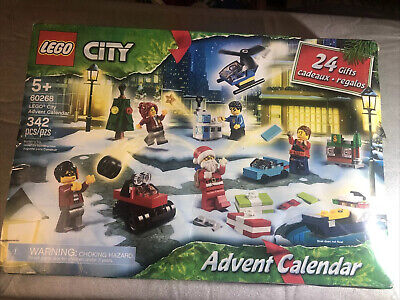LEGO® City Advent Calendar 2020 Building Set 60268 Open Box Toys Sealed 342pc 5+
