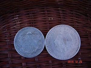 Un Pesos 1926 , Cinco Pesos 1948 , Silber - <span itemprop='availableAtOrFrom'>Villach, Österreich</span> - Un Pesos 1926 , Cinco Pesos 1948 , Silber - Villach, Österreich