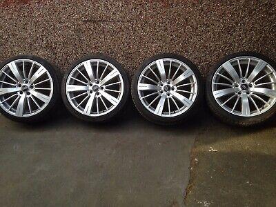 Alloy Wheels With Tyres rear 275/30R19 Pirelli PZero R01 x2 front 235/35R 19