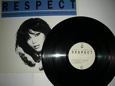 Promo Houset 12  Judy Cheeks Respect  5 Versions  Emi With A Mailing List Card