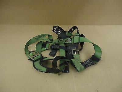 Dbi Sala Safety Harness Greenblue Vest Style Nylon Metal