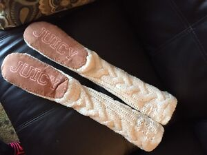 Juicy couture slippers/stockings