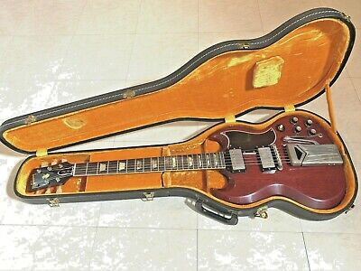 1962 GIBSON LES PAUL SG STANDARD GUITAR & CASE  ORIGINAL OWNER STORED SINCE 1980