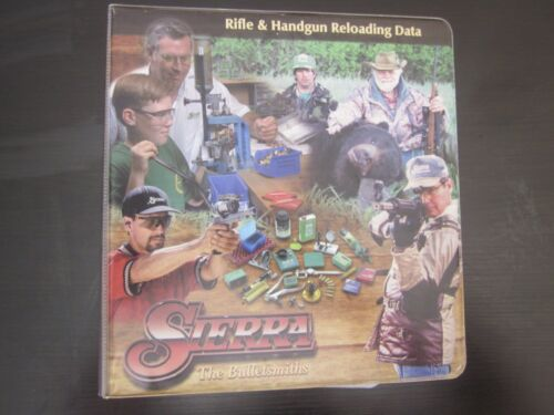 Sierra The Bulletsmiths 2003 5th Edition Rifle & Handgun Reloading Data