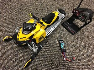 RC snowmobile Brushless RTR modified