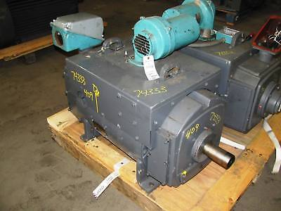 100 HP DC General Electric, 2500 RPM, 409AT Frame, TEAO, 500 V