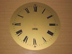 Vtg Standard Brass Roman Numeral Metal Clock Face Industrial Steampunk Wall Art