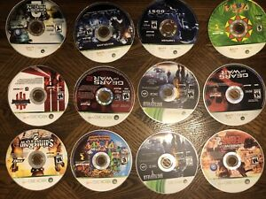 Various Xbox 360$ - 5$ each