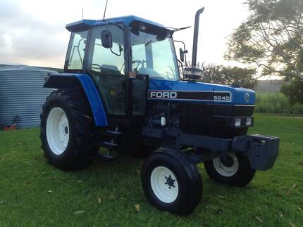 Tractor Ford New Holland Air Cab 70 HP Ideal Hobby or small farm