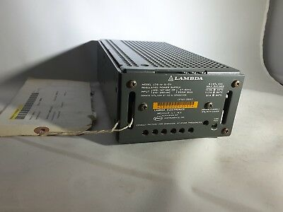 Lambda Lds-w-5-ov Regulated Dc Power Supply 5v 14 Amp 220w Tested New Nos 249