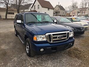 2009 FORD RANGER FULLY LOADED WITH TOPPER!!