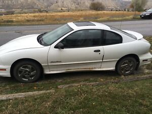 2000 Pontiac Sunfire AS IS
