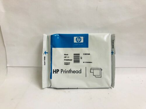 New Genuine HP 11 Black Printhead C4810A,