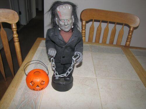 Telco Motionette Halloween Frankenstein Monster Vintage  1989 missing light
