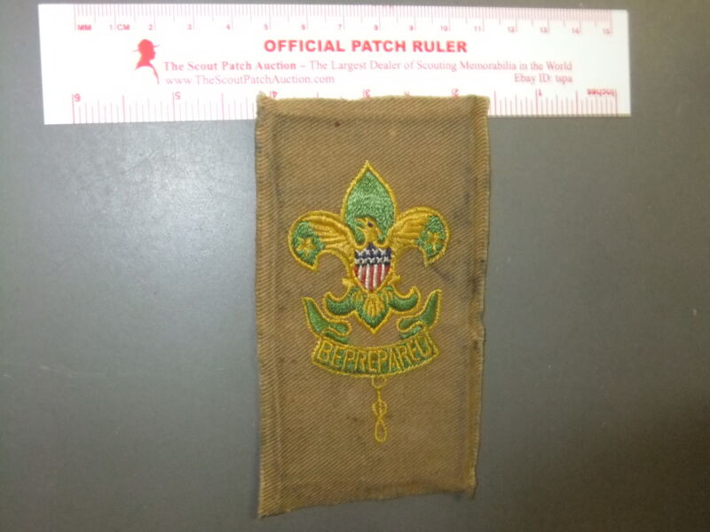 Boy Scout Assistant Scoutmaster on Tan Square 6494EE