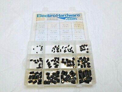 Electro Hardware 144 Pcs Alloy Steel Set Screw M4x0.70 To M10x1.50 Met-set-bt-as