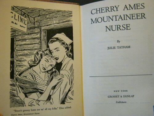 ANTIQUE - CHERRY AMES MOUNTAINEER NURSE - 1951