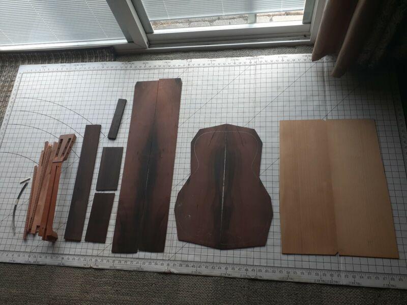 Brazilian Rosewood Guitar BACK SIDES LUTHIER TONEWOOD adirondack top