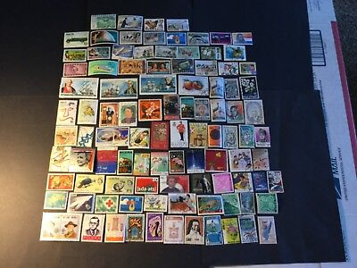 100 Different  Worldwide Stamps  06