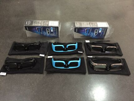 Sony active 3-D glasses (set of 6)