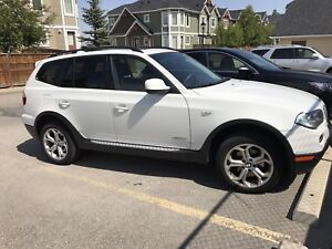 2010 BMW X3 - ALPINE WHITE. NEED GONE ASAP. GREAT CONDITION.
