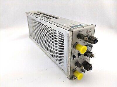 Tektronix 7a26 Dual Trace Amplifier Plug-in Module 2-channel 426-0737-00 20pf
