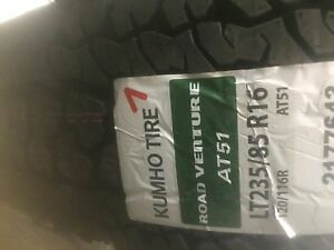 LT 235 85 r16 Kumho AT.  (2 tires only)