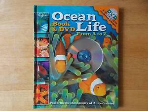 Ocean Life From A-Z Book & DVD - Kids Parkinson Brisbane South West Preview