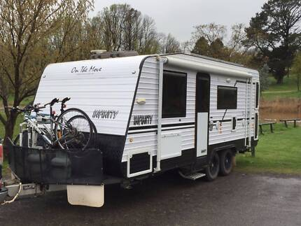 2013 On The Move Infinity Semi-Off Road Caravan plus many extras