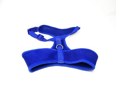 Simply Dog Soft Harness Size Medium / Large Bright Blue Mesh See Measurements ()