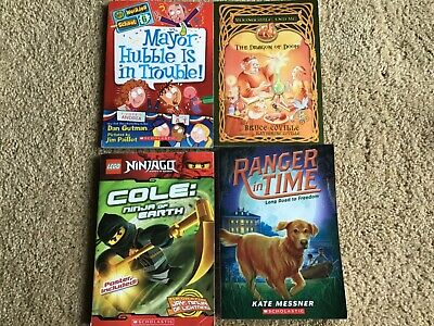 LOT LEGO NINJAGO MY WEIRDER SCHOOL KIDS FICTION CHAPTER BOOKS NOVELS DRAGON DOG
