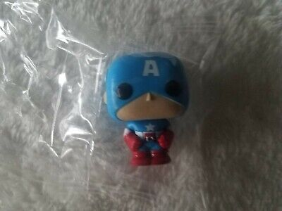 "Funko Pocket Pop Marvel Advent Calendar Captain America 1.5"" Mini Figure Sealed"