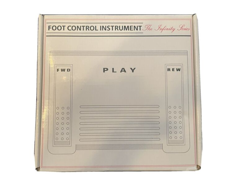 The Infinity Series transcriber foot control instrument IN-765 Dictation
