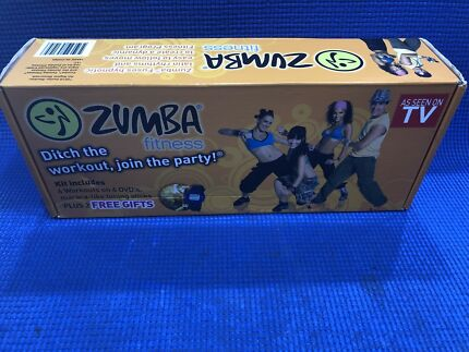 ZUMBA Fitness DVD Set + Maraca Toning Sticks