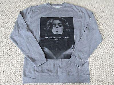 New Authentic Beyonce Formation World Tour Merch Orchid Crewneck Sweatshirt Sz M