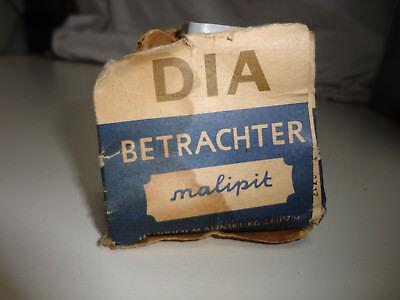 """1 schöner alter Diabetrachter """"Malipit"""" DDR"""