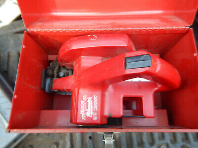 Vintage Milwaukee 6305 Cordless Circular Saw W Wrenches And Steel Case Parts