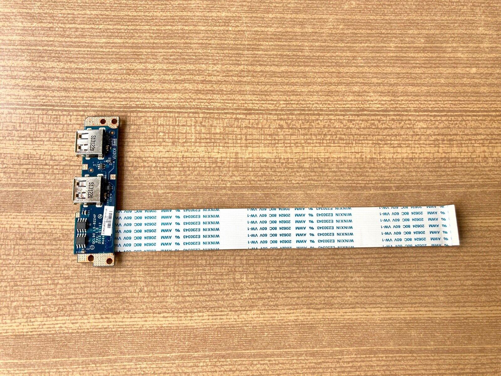 Usb board qcl90 ls-8224p 455nxh88l01 pour asus r900v etc..