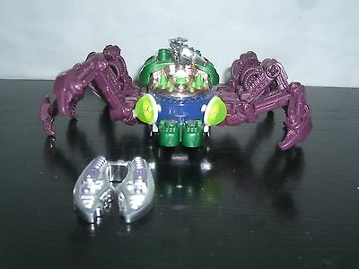 VINTAGE 90'S FRICTION ROBOT ROBOTIC SPIDER PLASTIC TOY