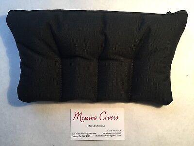 Messina Covers 4 Four Tuba Mouthpiece Case Pouch Black Quad Bag