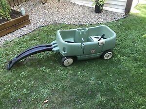 Chariot voiturette pour enfant
