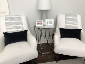 Pottery Barn arm chairs