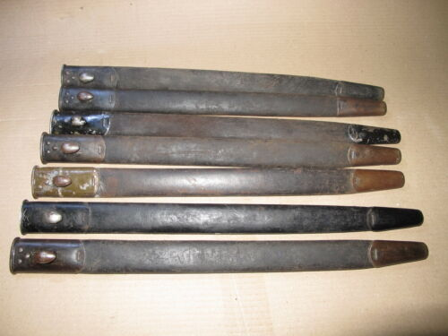 WW2 British 1907 Smle 1907 WW1 Teardrop bayonet Scabbard Enfield