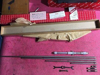 Starrett Inside Micrometer Model 124c Range 8-32 Inch Machinist Tools