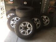 100 series Sahara rims and tyres Lota Brisbane South East Preview