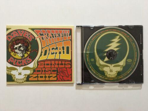 Grateful Dead Dave s Picks 2012 Bonus Disc CD Capital Centre 7/29/74 Landover MD - $279.00