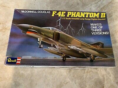 Revell F-4E Phantom II 1/72 Scale Model Kit H-179 ~ FREE SHIPPING