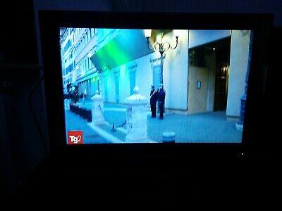 tv lcd schaub lorenz 16 pollici .. tv a 12 volt per camper e casa .. dvb-t